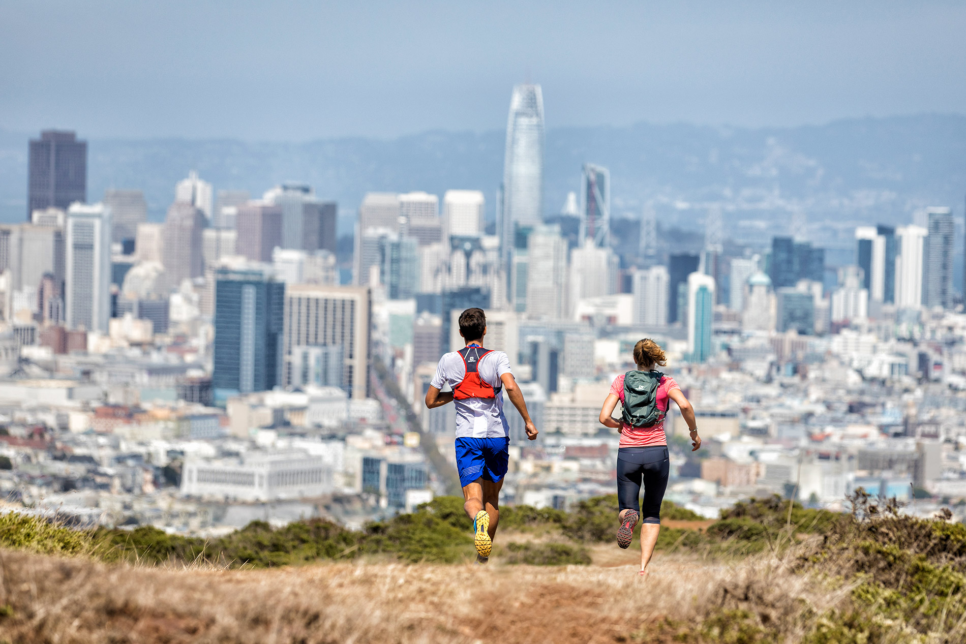 SALOMON RUNNING-SAN FRANCISCO